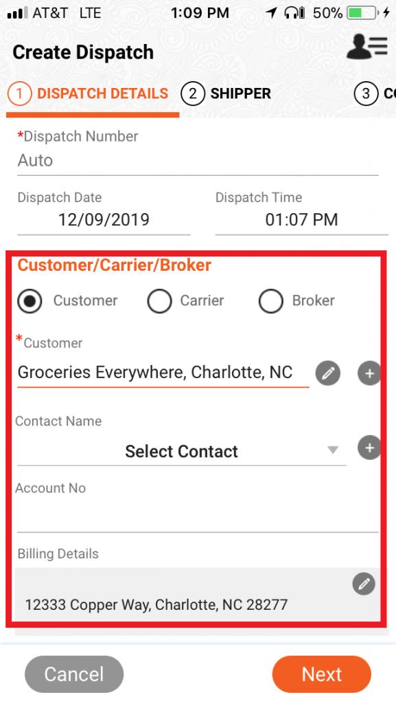 TruckLogics mobile app trucking management software